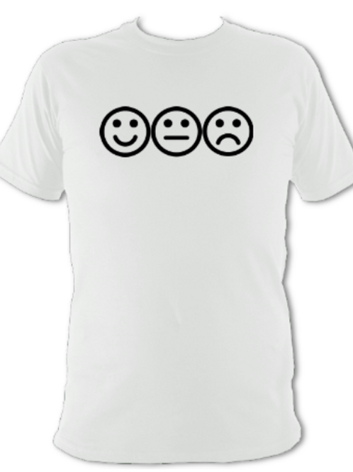 "White ""feelings"" Tee Shirt"