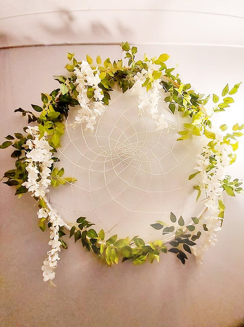 Large Oversized Wisteria Dreamcatcher