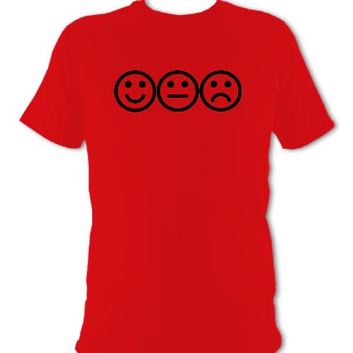 """Red """"feelings"""" Tee Shirt"""