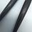 Thumbnail: Gothic Black Horn Spike Earrings