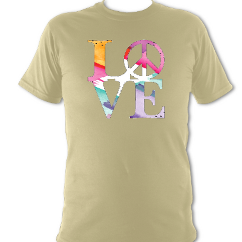 "Sand ""LOVE"" Tee Shirt"