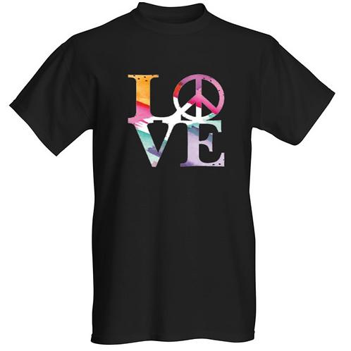 "Black ""LOVE"" Tee Shirt"