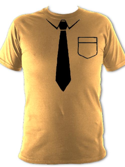 "Old Gold ""Black Tie"" Tee Shirt"