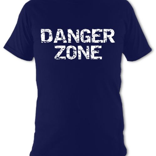 "Navy ""Danger Zone"" Tee Shirt"