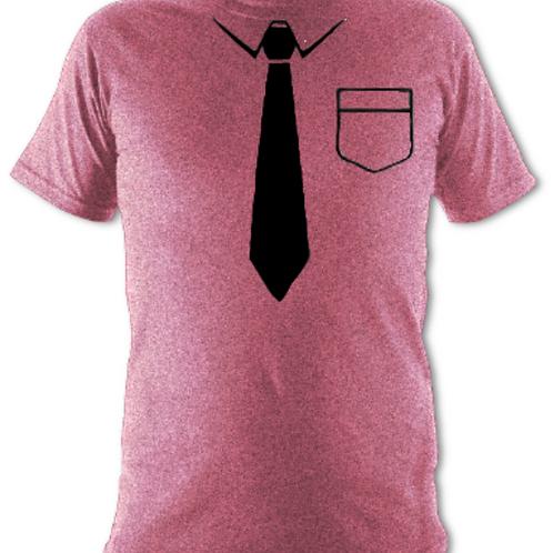 "Dusky Pink ""Black Tie"" Tee Shirt"