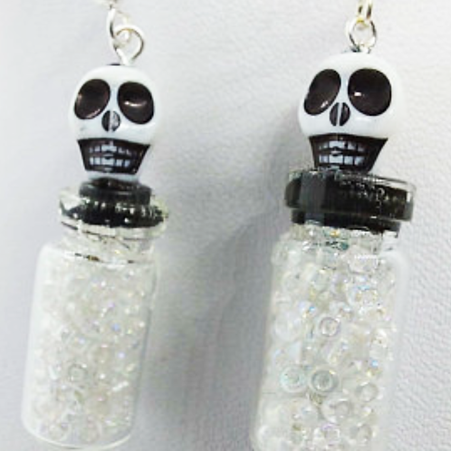 Skeleton Potion Earrings