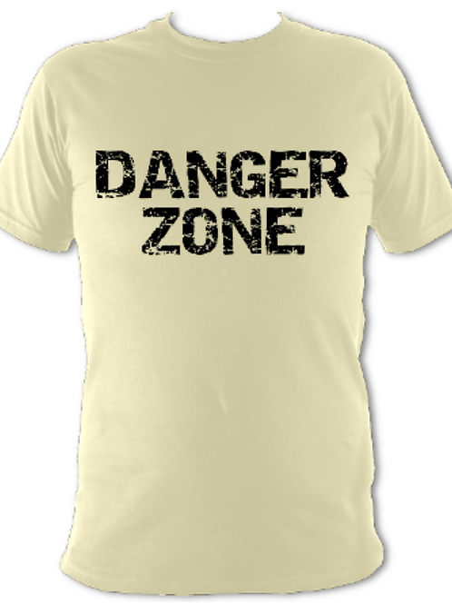 "Natural ""Danger Zone"" Tee Shirt"