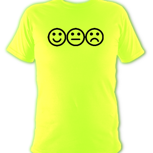 "Flurescent Green ""feelings"" Tee Shirt"