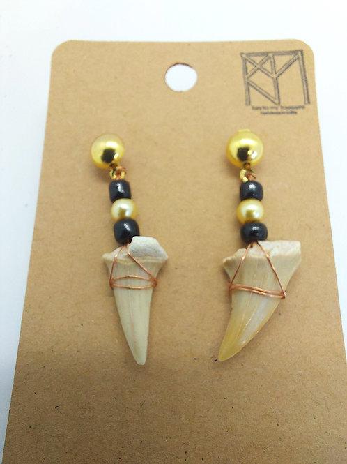 Shark Teeth Earrings
