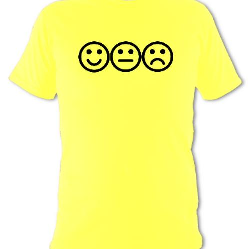 """Yellow """"feelings"""" Tee Shirt"""