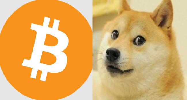 dogecoin į btc