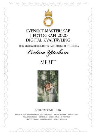 Diplom digital kvaltävling SM 2020
