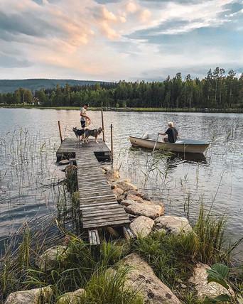 Swedish summer nights are just wow..jpg