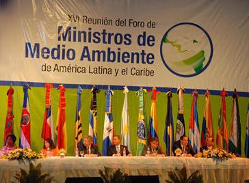 Un nuevo Foro Regional de Ministros de Ambiente de ALC