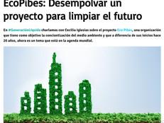 EcoPibes.org en los medios: entrevista en GenL, de Radio con Aguante