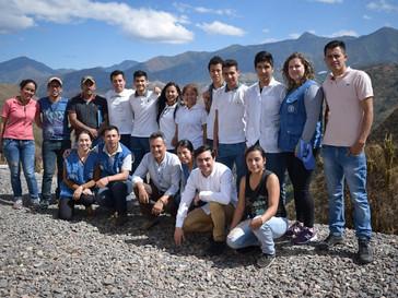 Jóvenes colombianos aplican tecnologías para una producción más sustentable de café