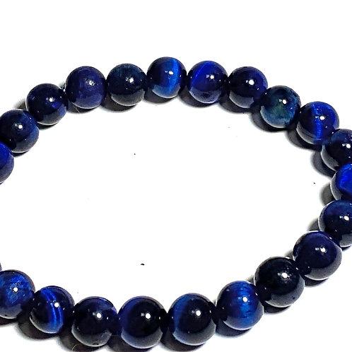 blue tigers eye healing bracelet