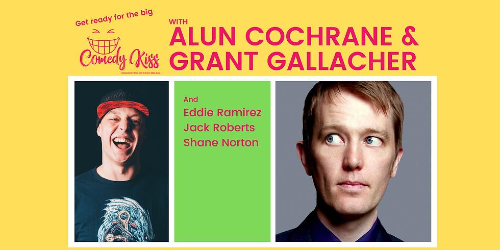 The Big Comedy Kiss with Alun Cochrane, Basel