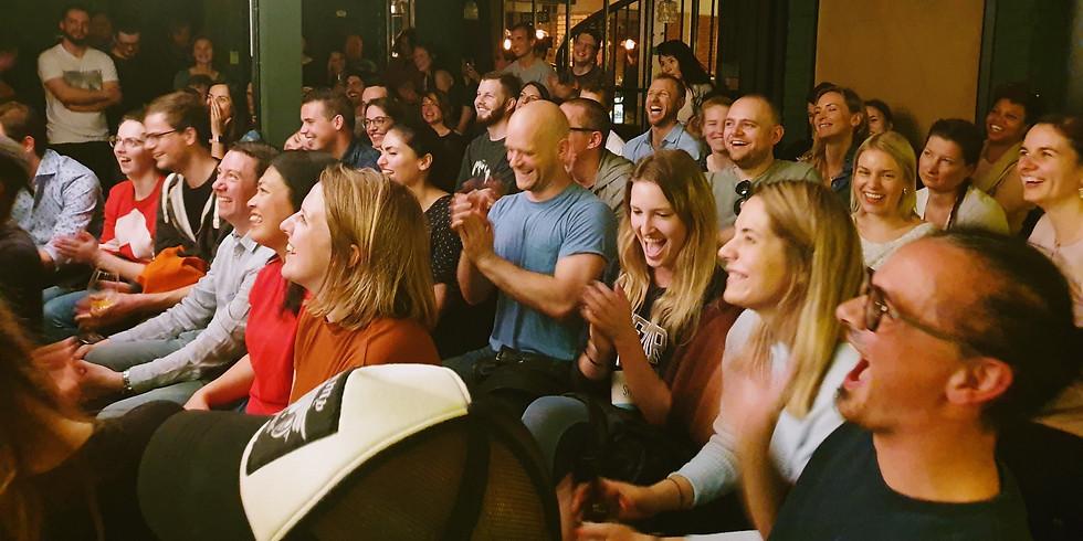Comedy Kiss' Open Mic at the Impact Hub
