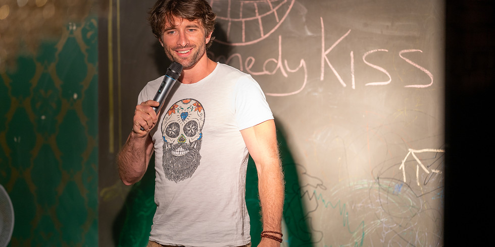 Comedy Kiss' Open Mic at the Impact Hub, Zurich
