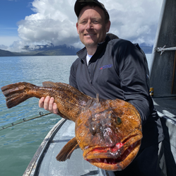Charter M/V Emydon to fish for Lincod in beautiful Alaska waters.
