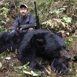 Alaska Fall Black Bear Hunt