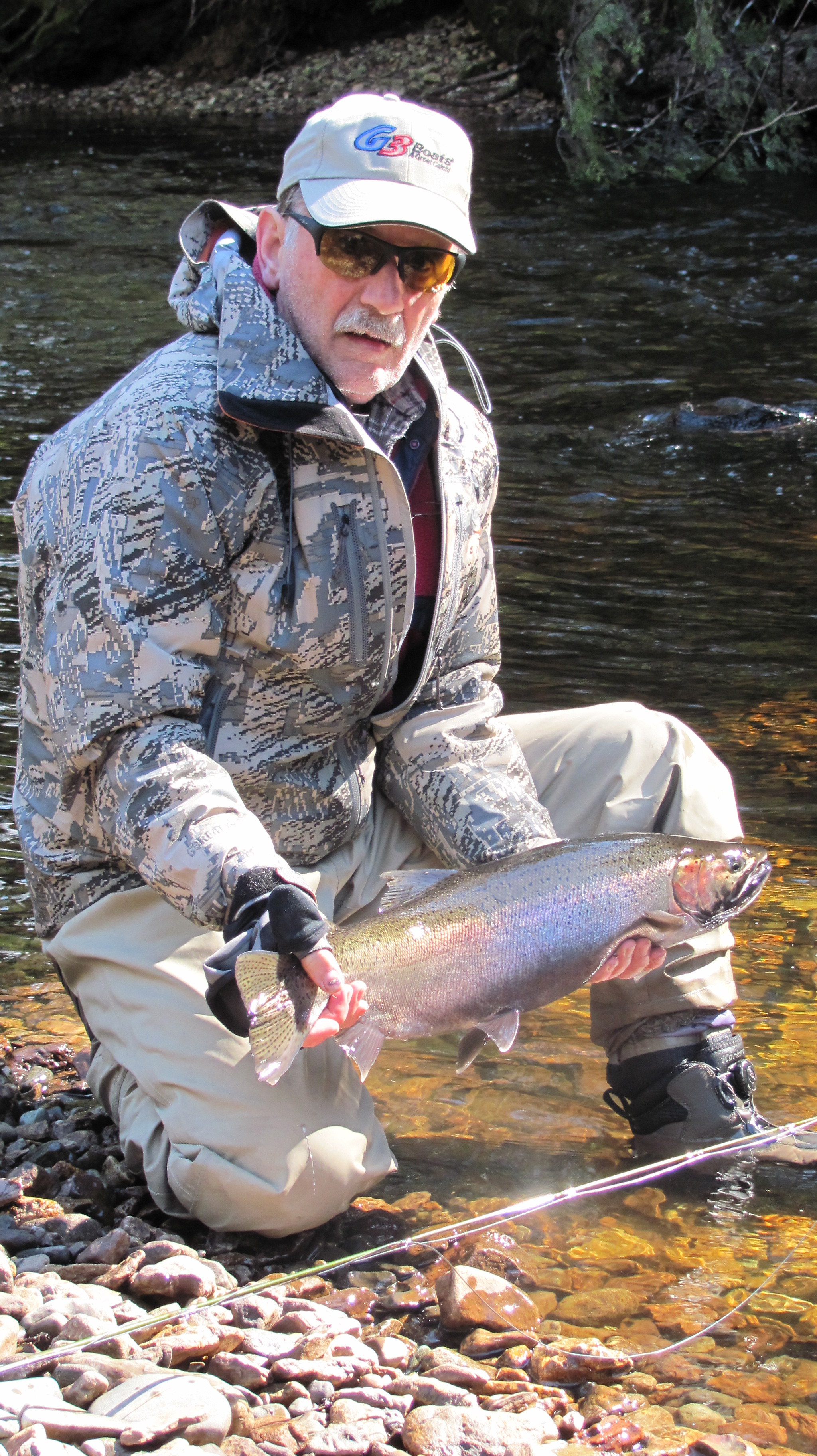 wild steelhead in April