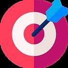 image of an arrow hitting a bullseye representing effective therapist marketing