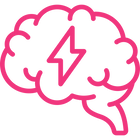 image of a brain with a lighting bolt in it representing the transformative power of good therapist marketing
