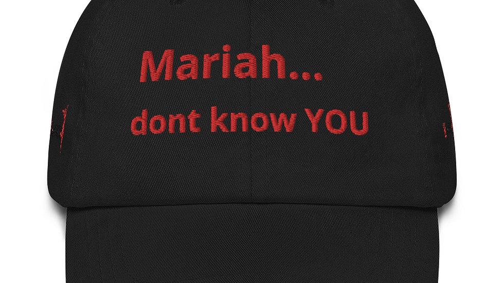 Dad hat KenYUCK Mariah...don't know YOU palmtree