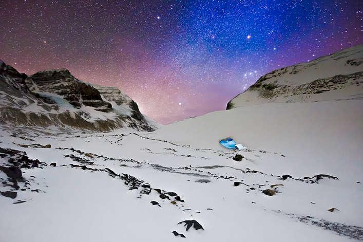COLUMBIA ICE CAVE