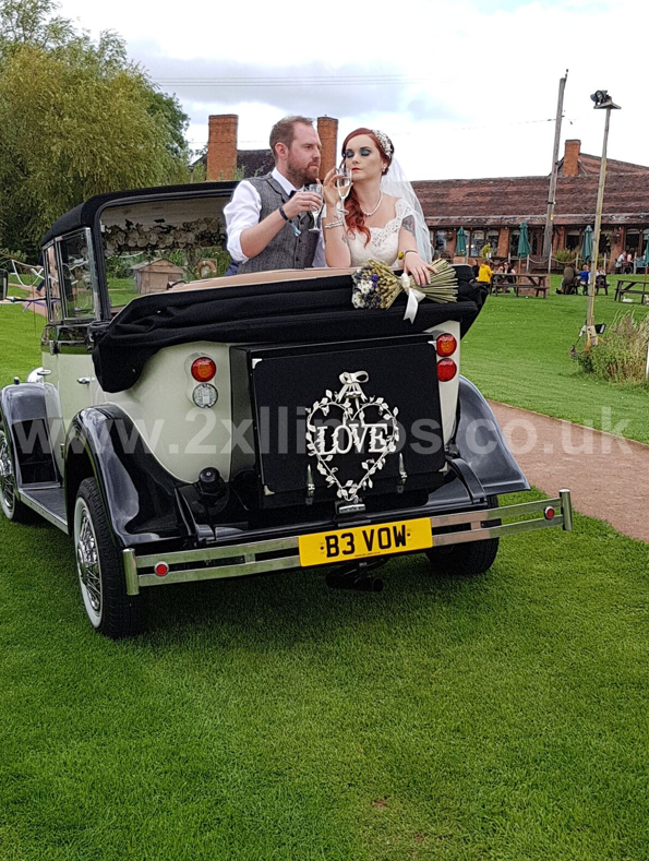 Wedding car Hire Shropshire