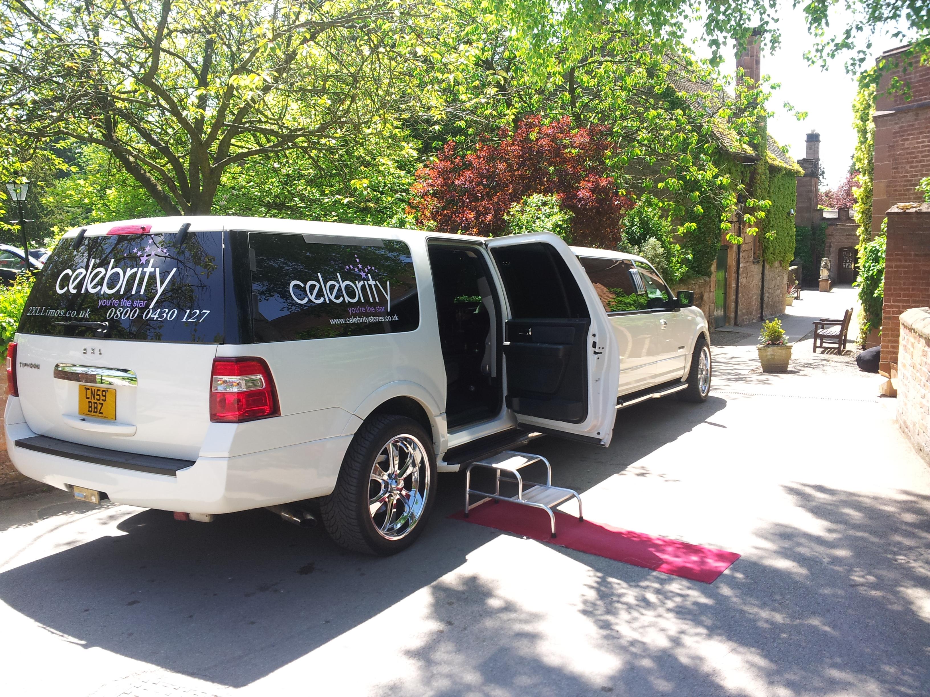 SUV limo hire