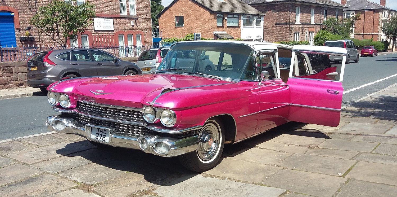 Pink Cadillac Hire