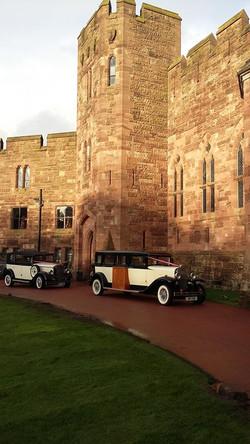 Castle wedding transport