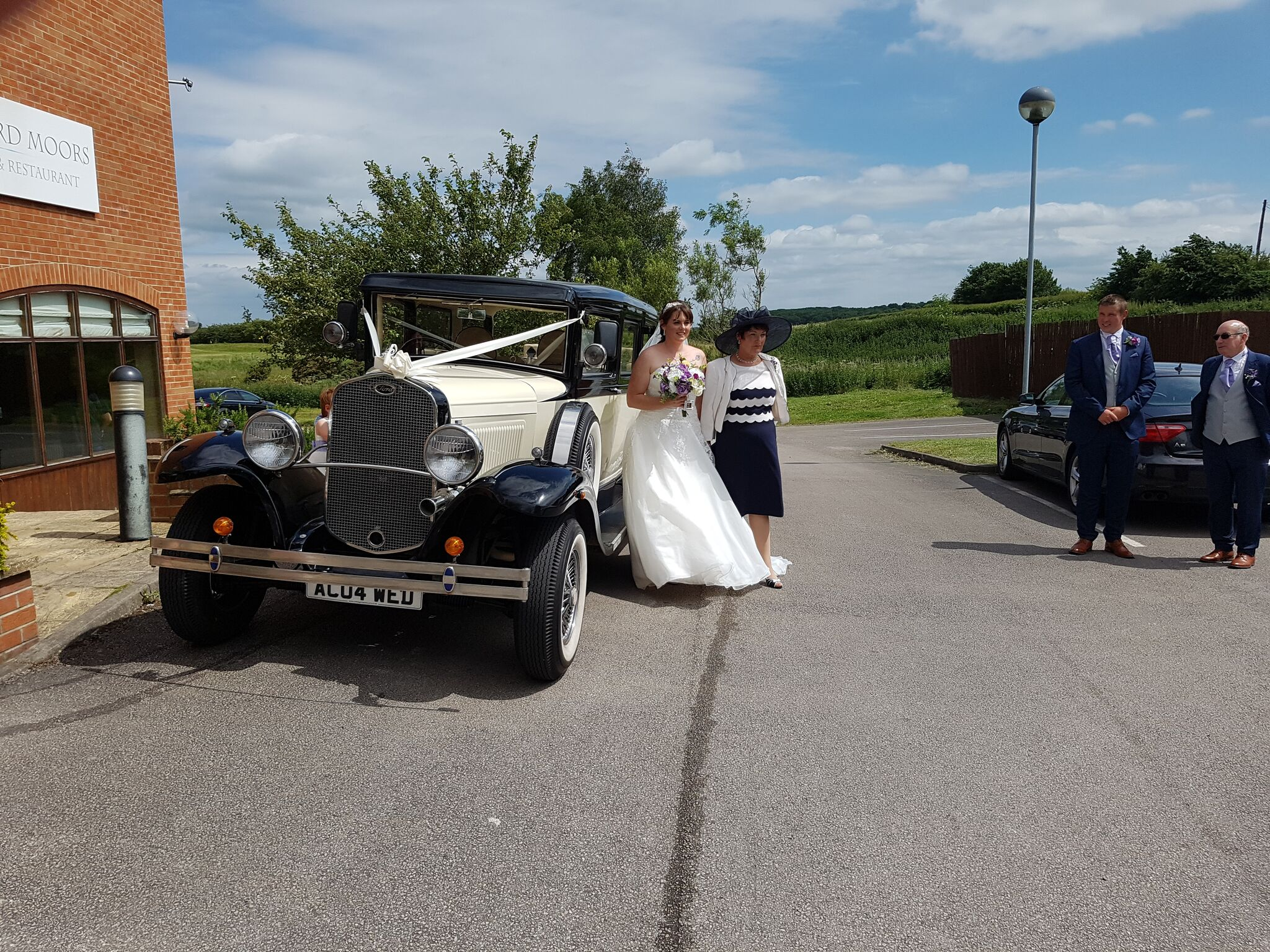 Wedding transport views hire