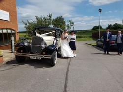 Wedding transport views hire