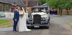 Wedding car hire ironbridge.