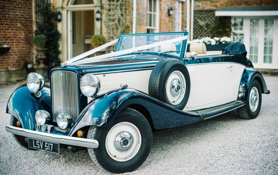 Wedding Car Hire - Jaguar