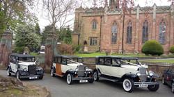 Wedding Shropshire Transport
