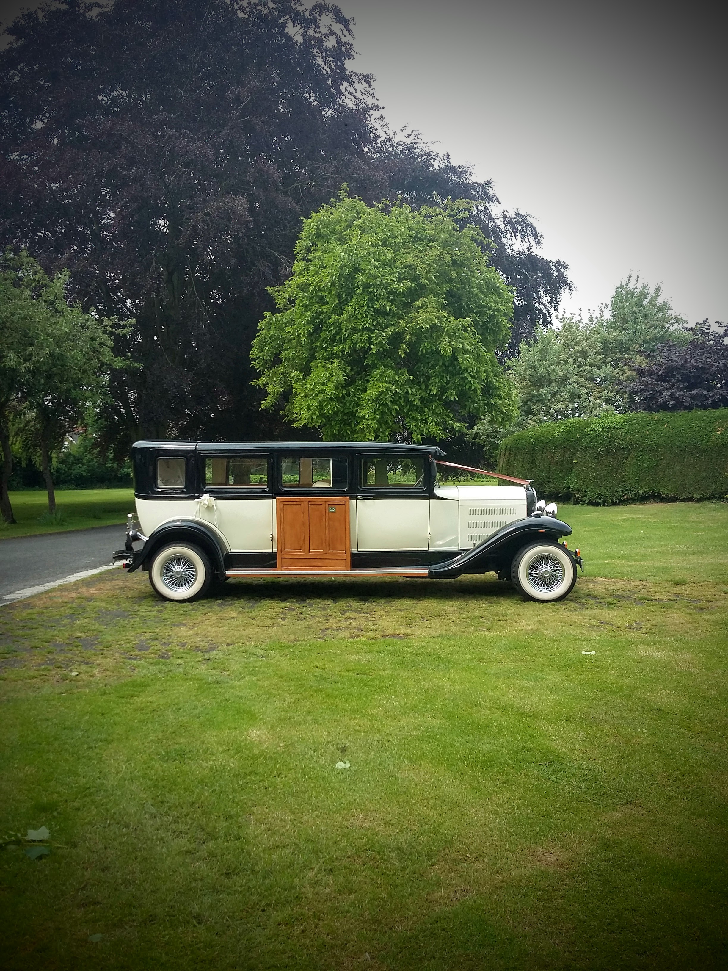 7 seater hard top vintage for hire shropshire