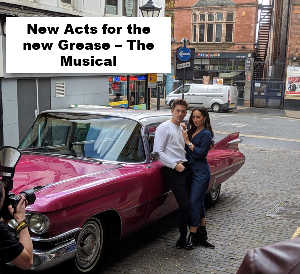 New acts for the grease the musical.
