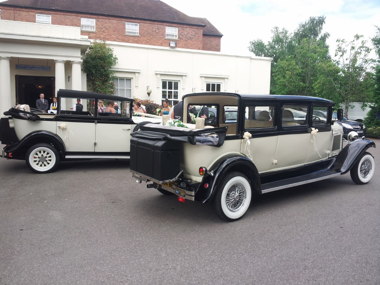 shifnal wedding car hire