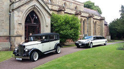 Matching wedding fleets