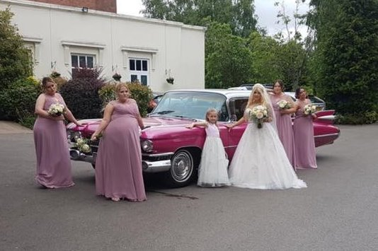 50's Wedding Car