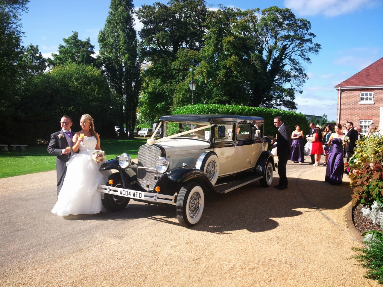 wedding car hire telford