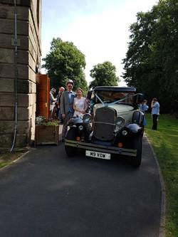 Church wedding shropshire