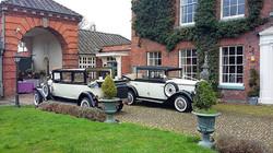 Shrewsbury wedding transport.