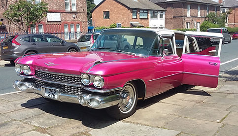 Cadillac Hire, Pink Cadillac Hire, 2XL limos, Pink Cadillac Hire UK