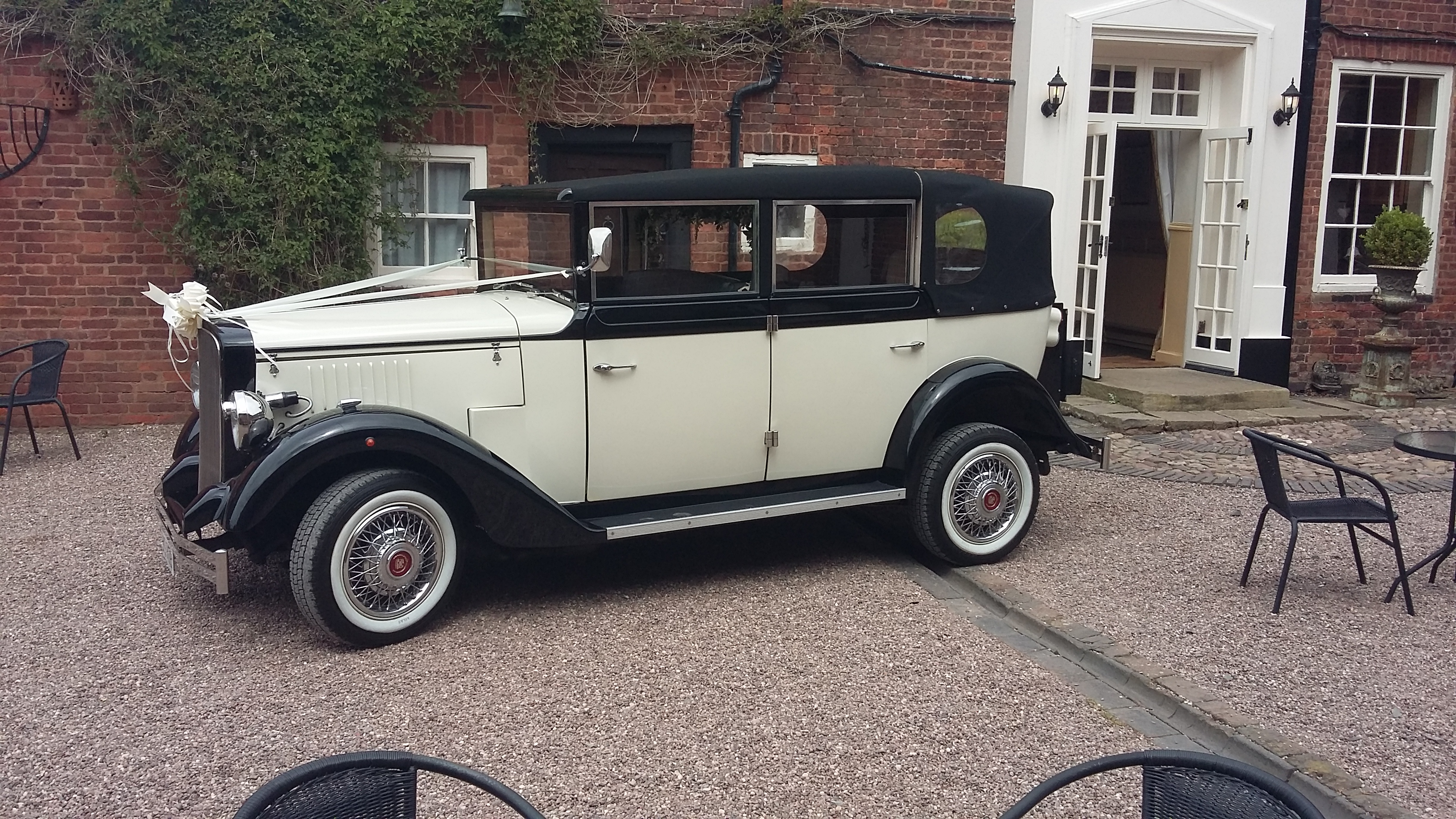 shrewsbury wedding car hire